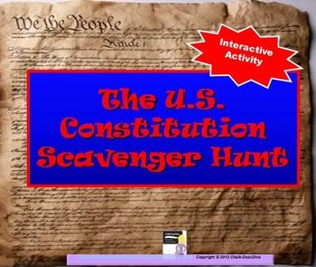 constitution scavenger hunt Vvhs united states history search this site home constitution scavenger hunt constitution scavenger hunt name.