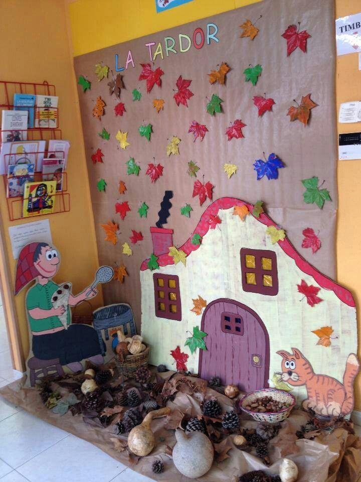 Decoraci n aula infantil casta ada manualidades - Como decorar mi jardin ...