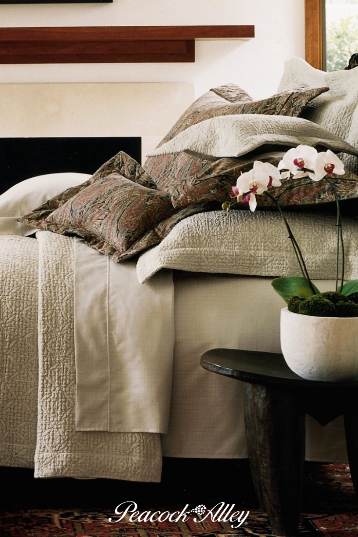 Olivia Matelassé Coverlet in 2020 Bedroom styles, Luxury