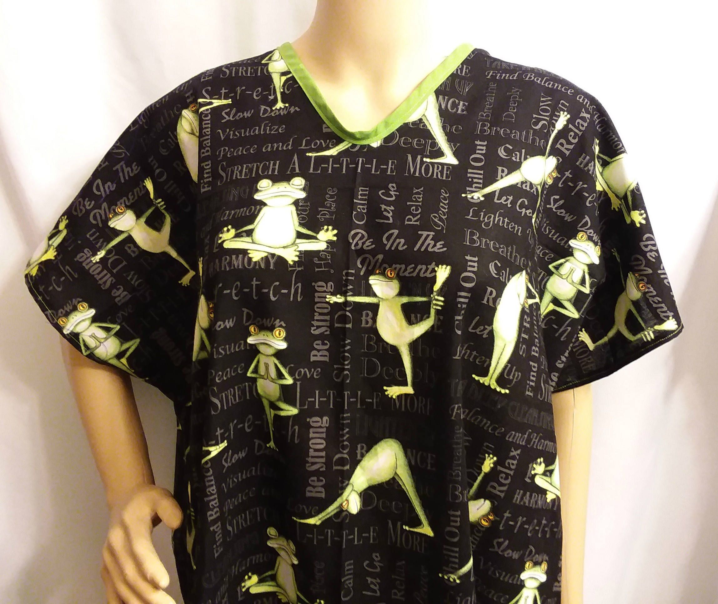 Hospital Gown for Bed bound Post Surgery COTTON Gown Fits Regular to ...