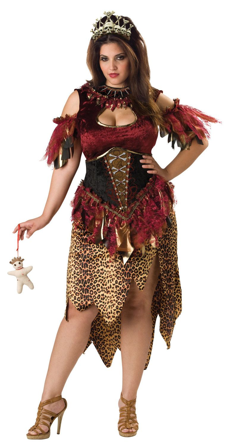 2x 3x voodoo priestess plus size costume - mr. costumes | fabulous