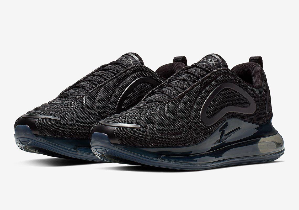 3cc07a8b70 Triple black 720s Triple Black, Sneakers, Nike Air Max, Shoes, Trainers,