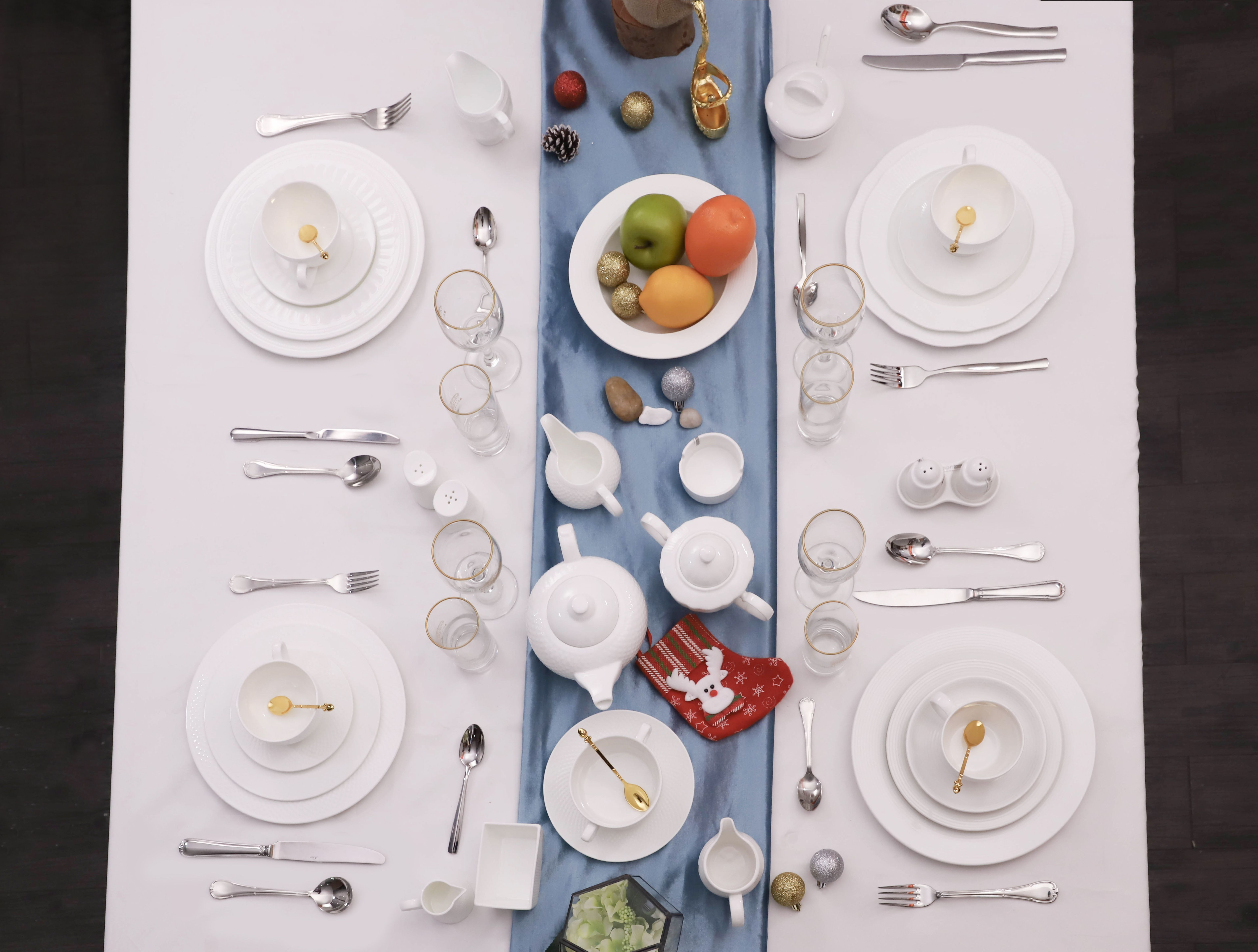 White Porcelain Is A Kind Of Classic Dinnerware Sets That Is Universal For Most Application Scenarios Like Hotel Restaurant Parties Weddings Etc They Look