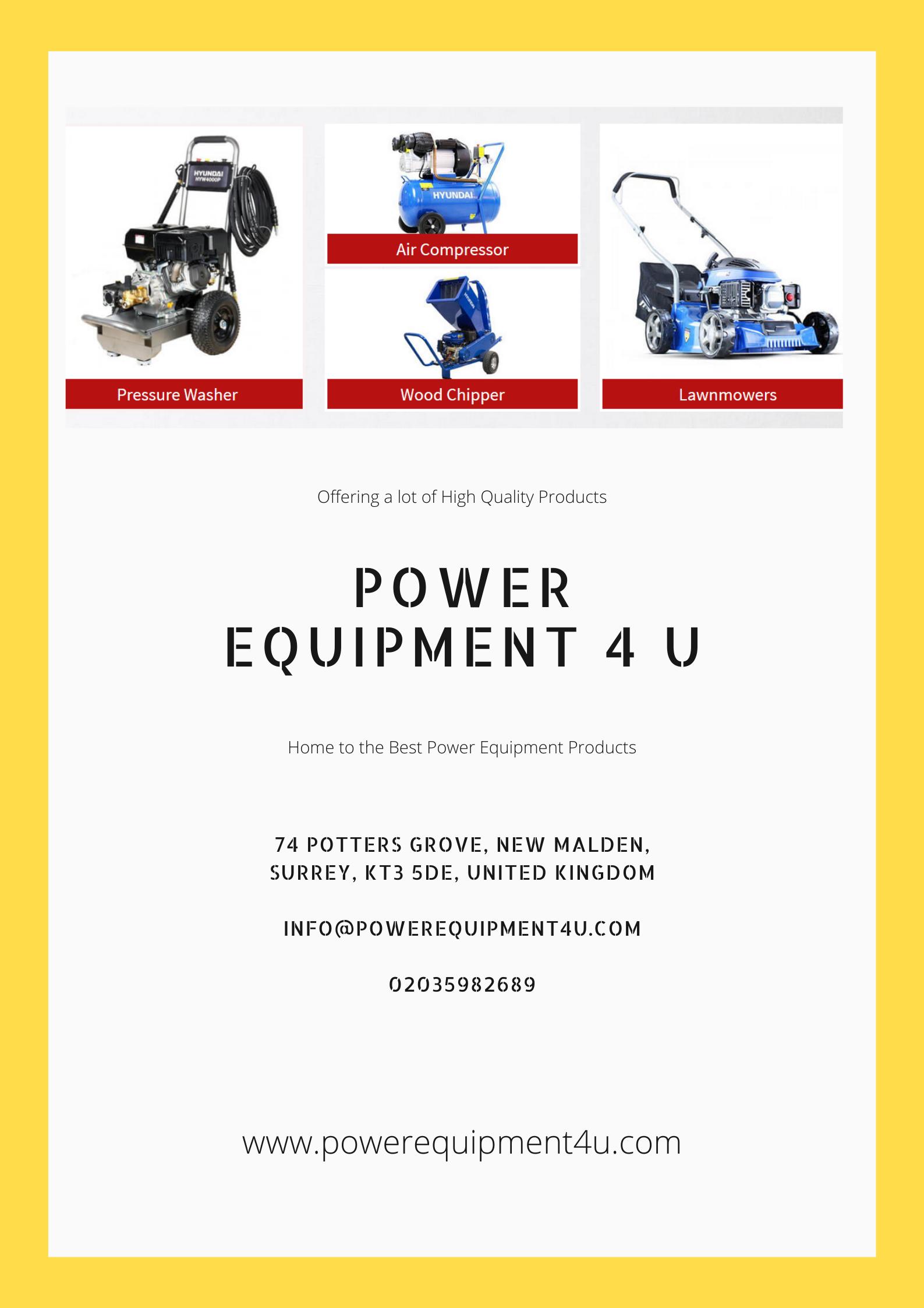 PowerEquipment4U is providing you the best garden