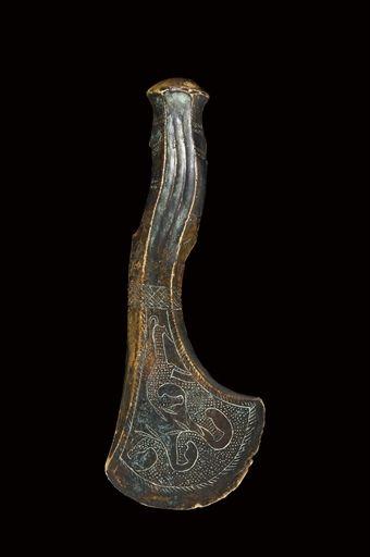 Топор бронза,Кобанская культура