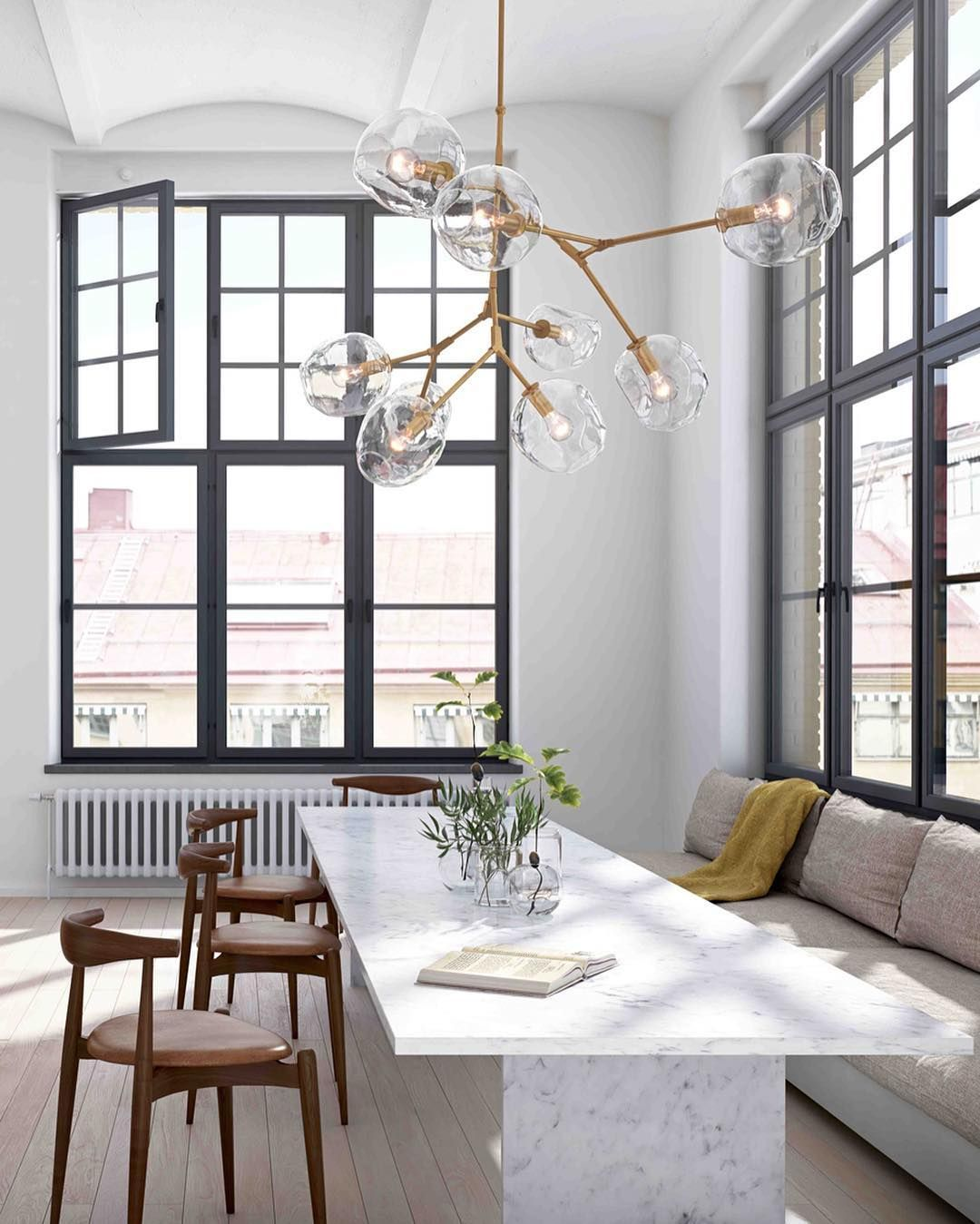 Lindsey Branching Bubble Chandelier 8 Replica Roll Hill Lights