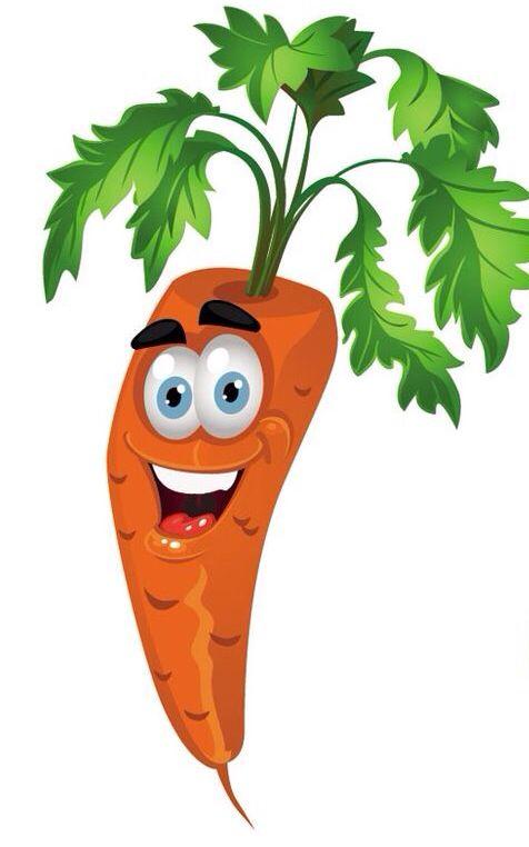 Zanahoria Carrot Verduras Dibujo Fruta Divertida Dibujos De Frutas Las frutas y las verduras son parte de los planes de alimentación bien equilibrados. zanahoria carrot verduras dibujo