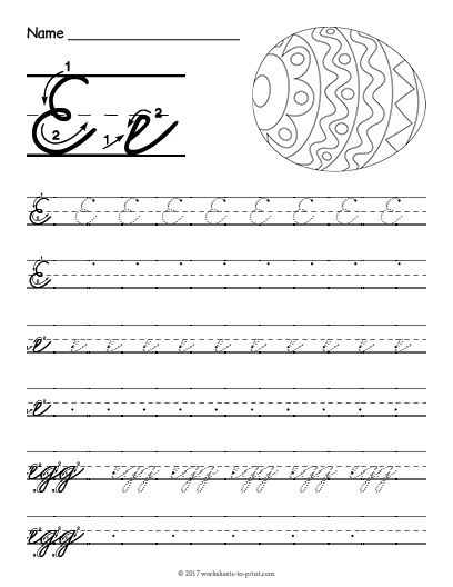 pin on cursive writing worksheets. Black Bedroom Furniture Sets. Home Design Ideas