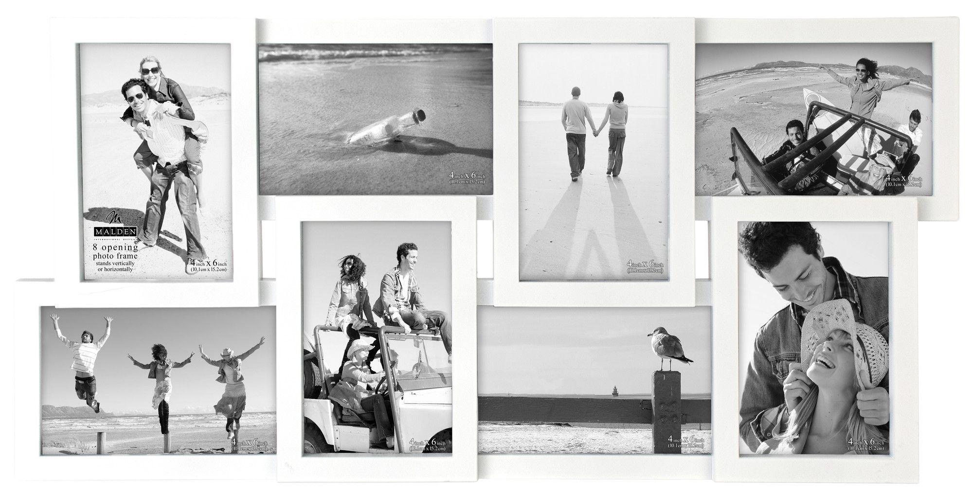 8 Slot 4\'\' x 6\'\' Puzzle Picture Frame | Products | Pinterest | Slot ...