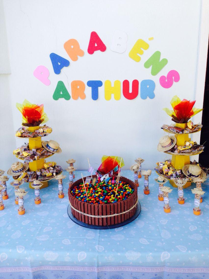 Decoração de festa infantil - Festa Junina