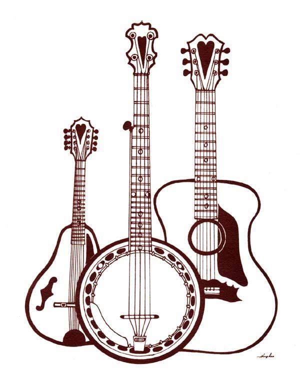 bluegrass trio jpg 600 770 pixels silouttes pinterest clipart rh pinterest com bluegrass mandolin clipart bluegrass mandolin clipart