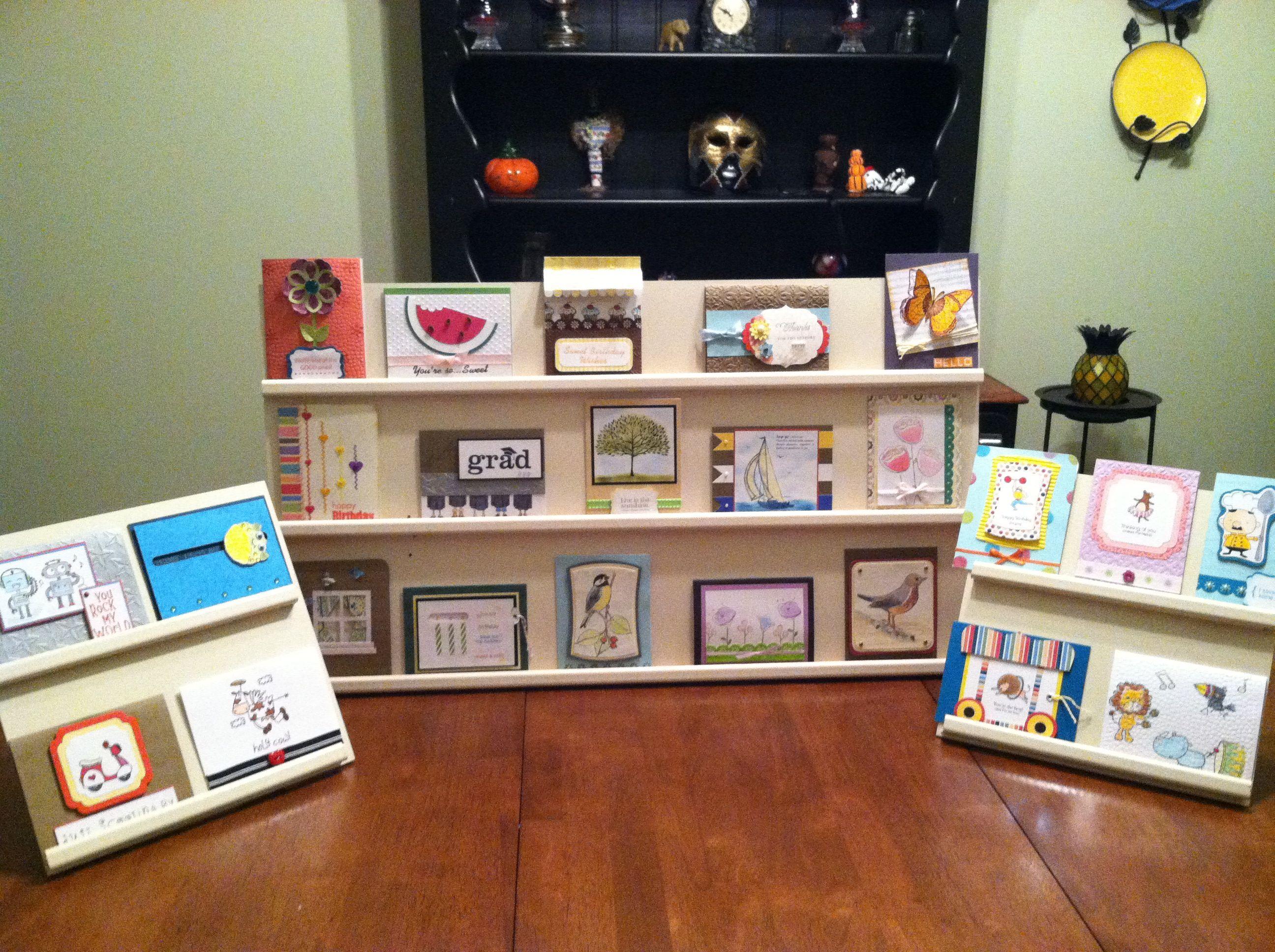 Handmade card display racks card displays display and craft fairs greeting card display m4hsunfo