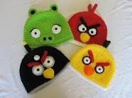 angry birds crochet hat pattern - Google Search