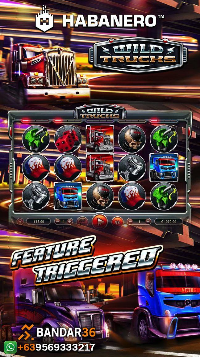 Wild Trucks di 2020 Kasino, Poker, Game