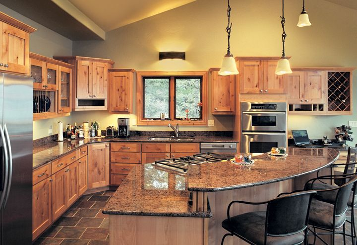 Cornerstone Kitchens In Rustic Maple   Canyon Creek