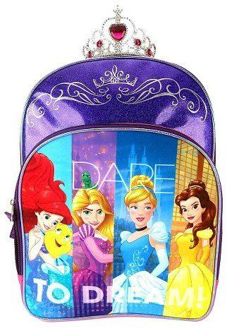 Pin for Later  75 Backpacks For Disney Lovers of Any Age Disney Princesses  Backpack Disney Princesses Backpack ( 16) 7889e47623273