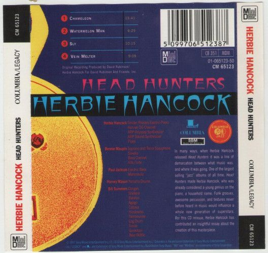 Herbie Hancock - Head Hunters (Minidisc, Album) at Discogs - how to find a head hunter