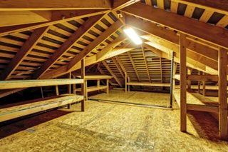 Genial How To Install A Partial Or Full Floor In The Attic For Storage | EHow