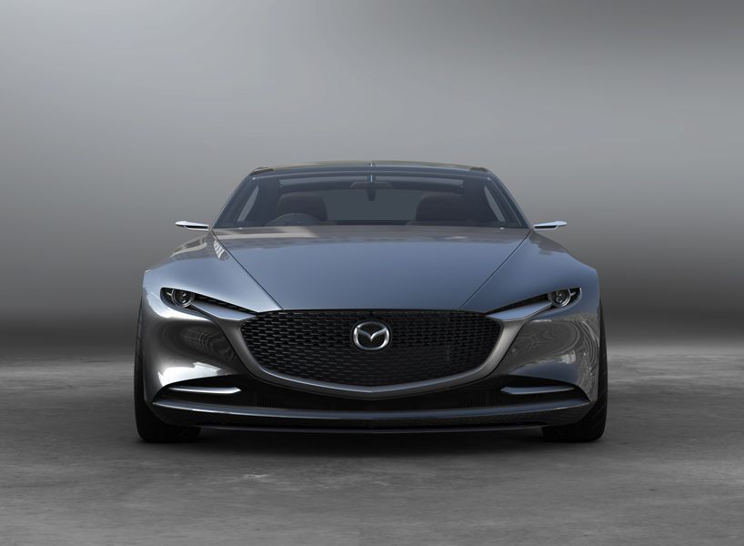Mazda Unveils Vision Coupe Concept Car At 2017 Tokyo Motor Show Tokyo Motor Show Concept Cars Mazda