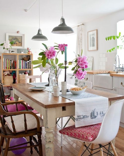 Etonnant 39 Original Boho Chic Dining Room Designs | DigsDigs