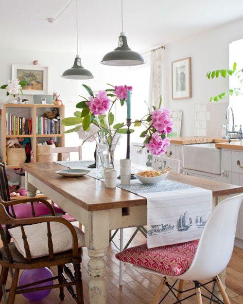 39 original boho chic dining room designs digsdigs chic dining room dining room design on boho chic kitchen table id=77510