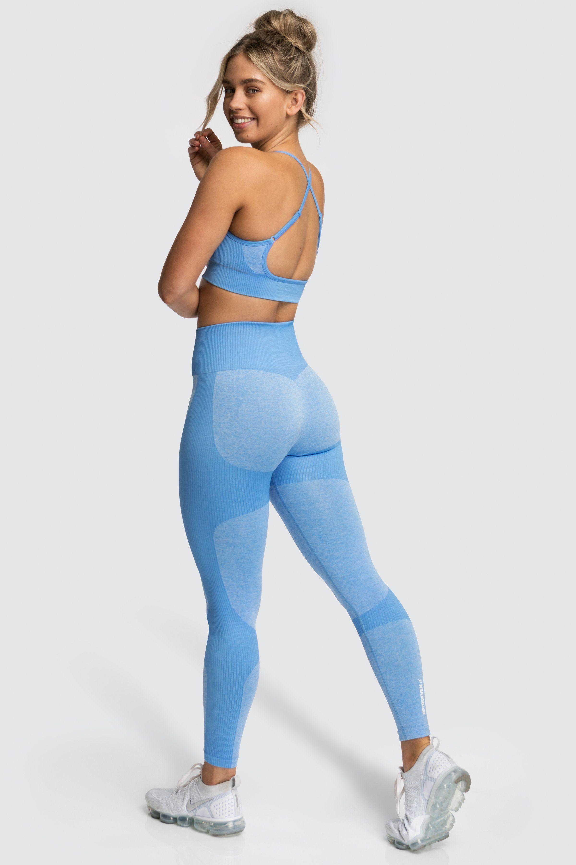 9367a30ee3 Impact Seamless Leggings - Sky Blue in 2019 | Women's | Seamless ...