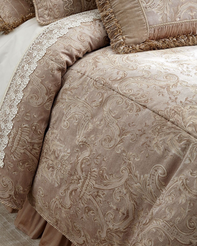 Dian Austin Couture Home King Dahlia Duvet Cover Duvet