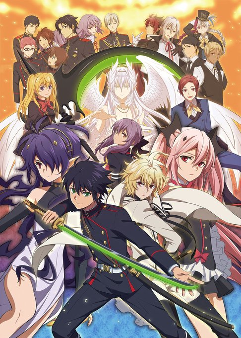 omu on in 2020 Owari no seraph, Anime, Seraph of the end