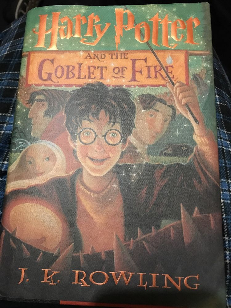 Harry Potter Goblet Of Fire Hardcover 1st Edition 1st Printing