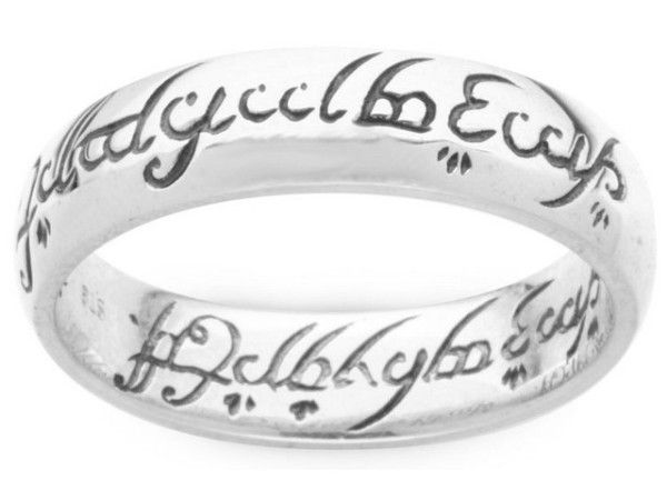 lord of the rings engagement ring - Lord Of The Rings Wedding Rings