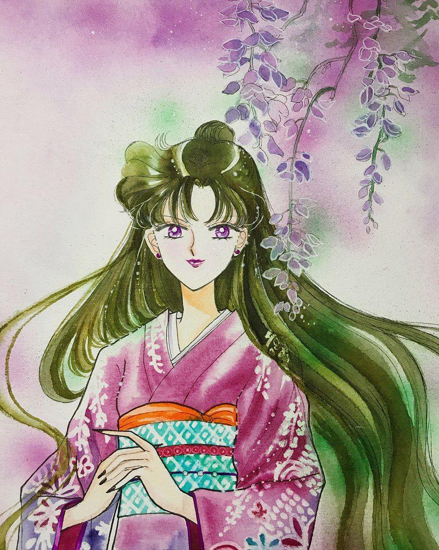 Pin Ot Polzovatelya Anna Yanuaria Na Doske Sailor Moon Sejlor Mun Risunki Sejlor Mun