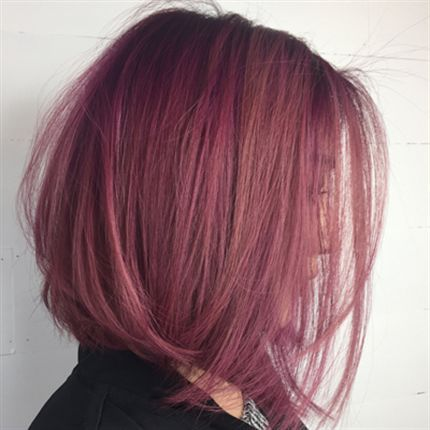 How-To: Dusty Violet Rose in 2019 | Ideas for Lydia | Hair ...