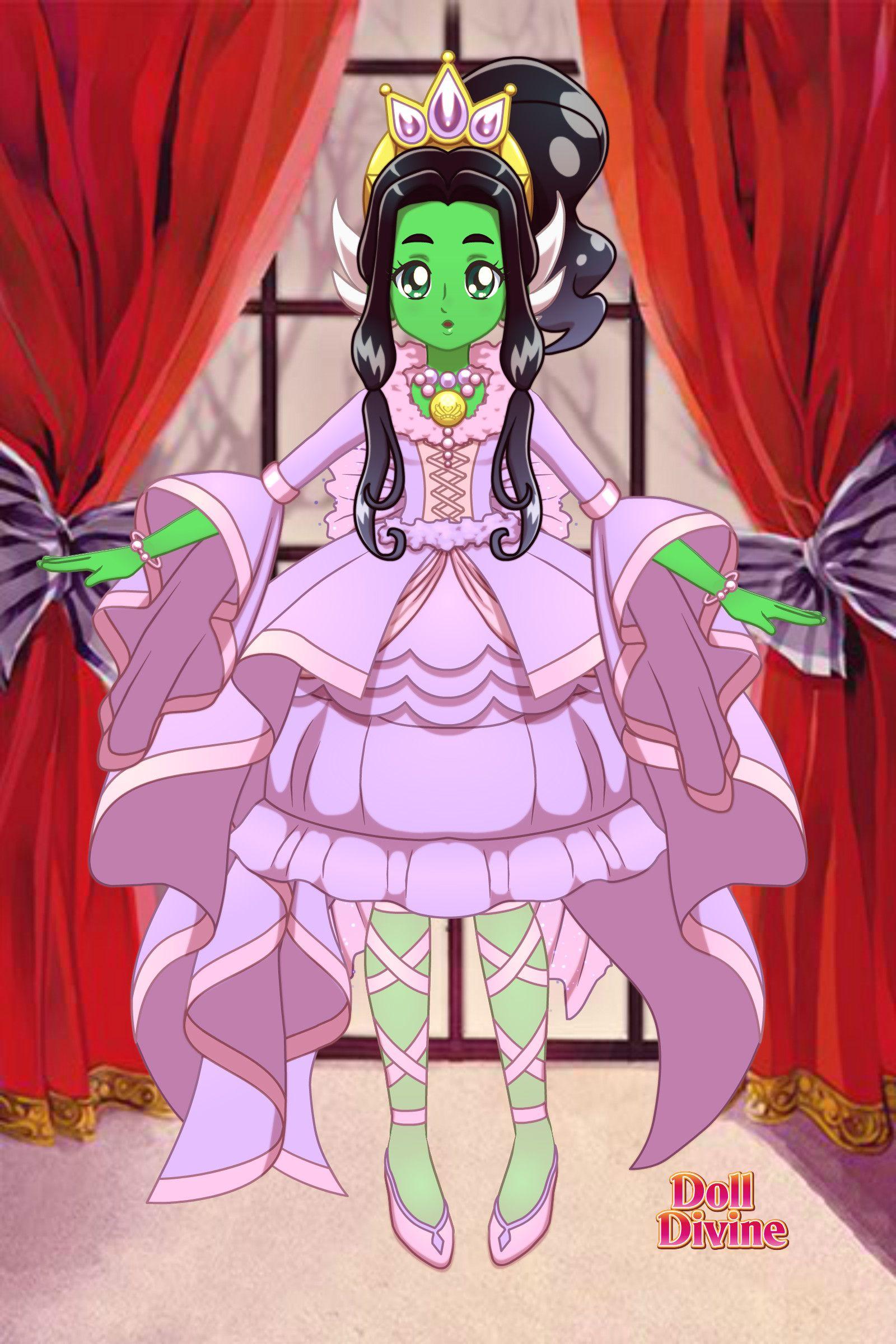 Cute alien princess