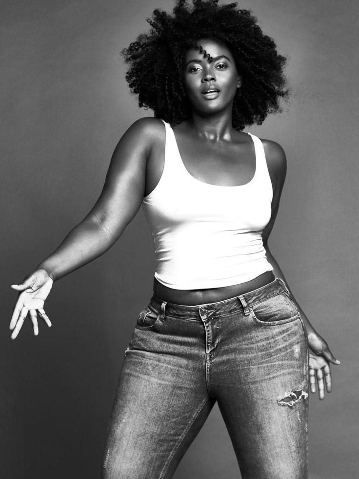 size models. black women. black plus size models. #melanin