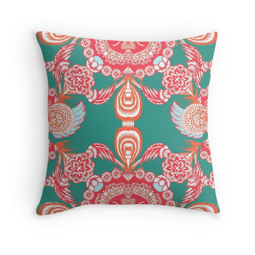 Love this throw pillow - so beautiful! Great for our boho style, but ...