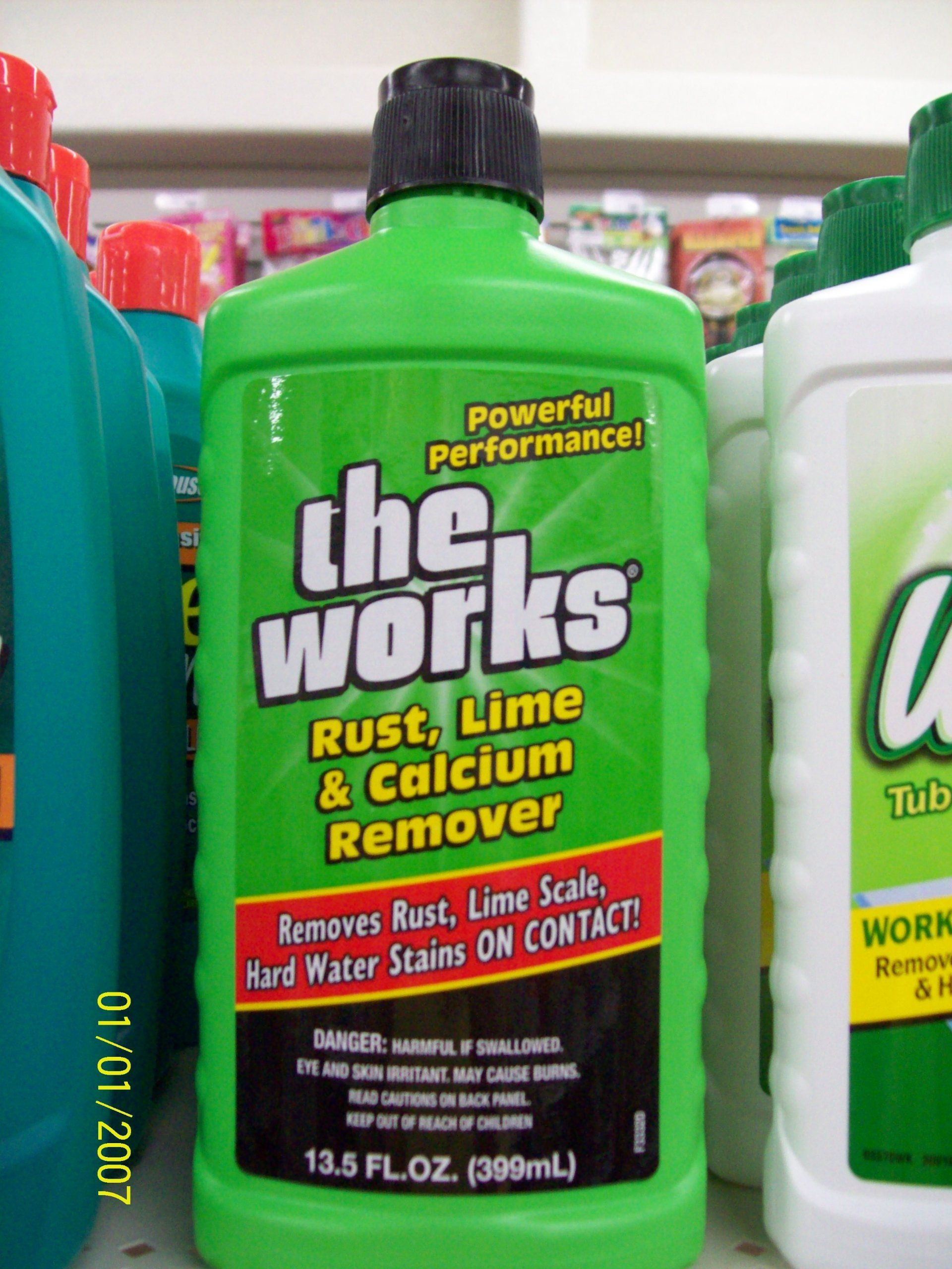 The Works- The best for removing well water stains from toilets ...