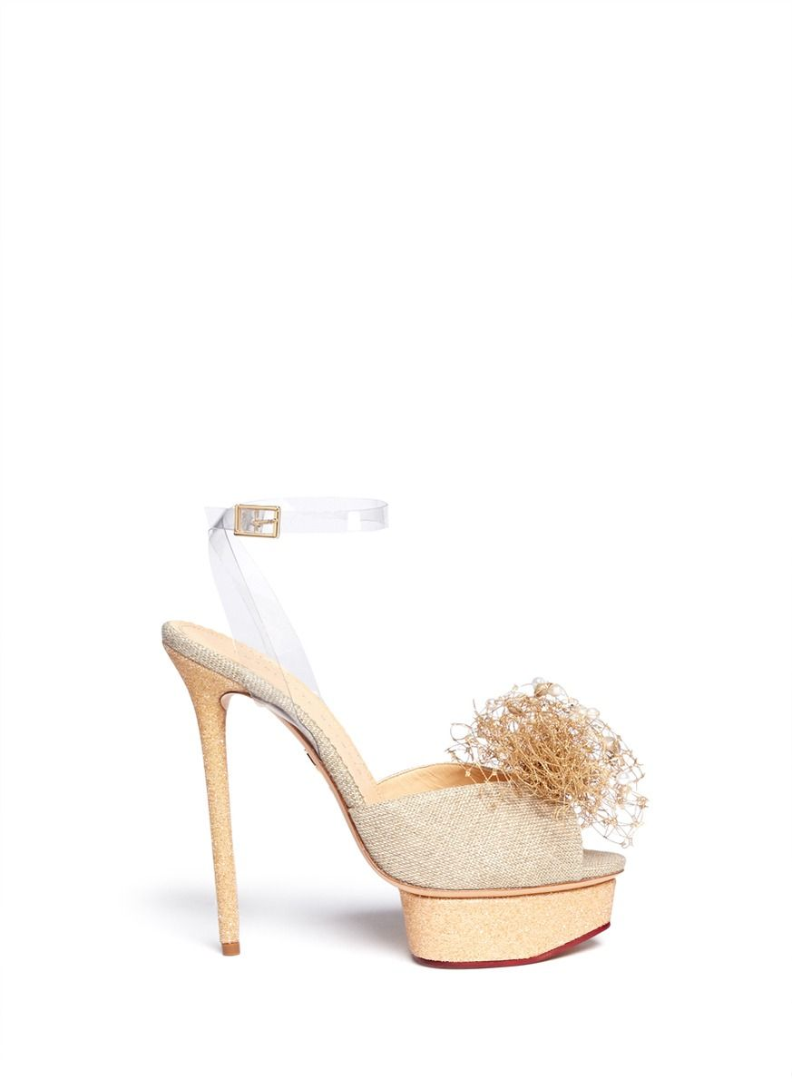 Charlotte Olympia Shipwrecked Coquette Sandals