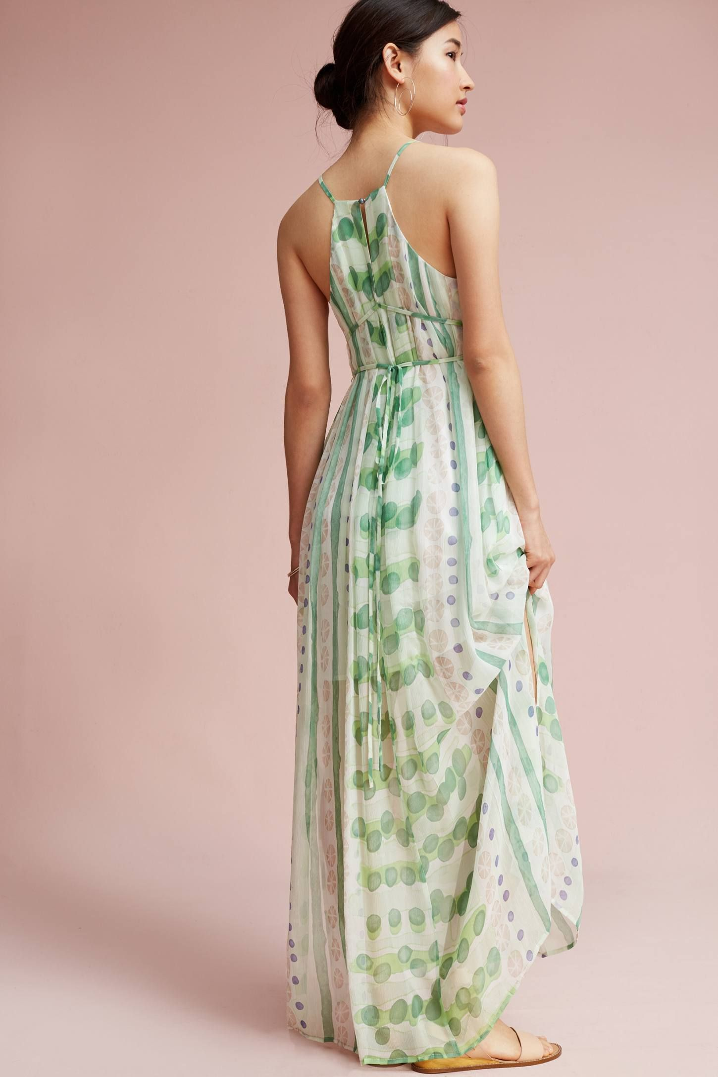 Vera Silk Maxi Dress | Maxi dresses, Silk and Anthropologie