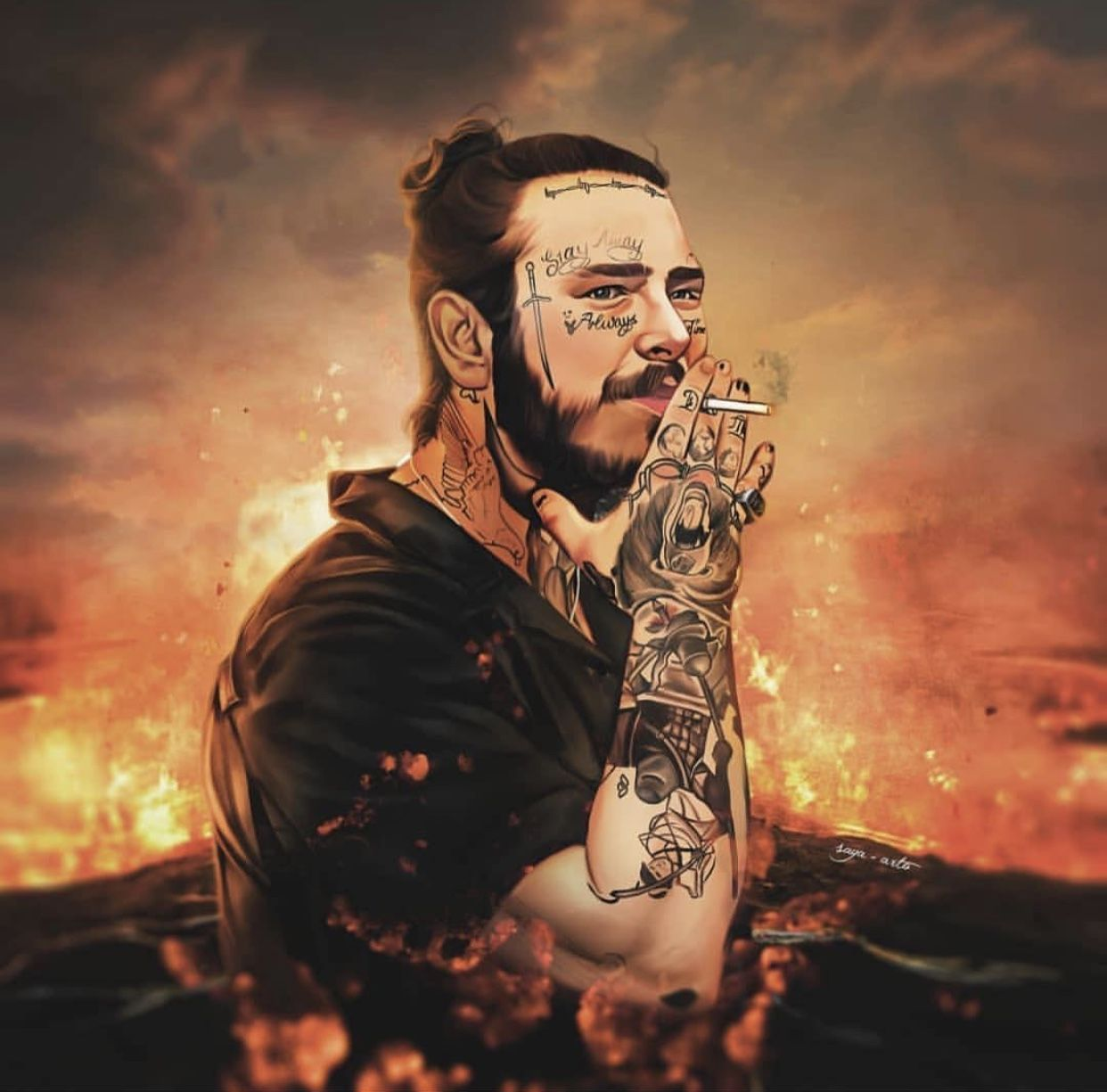 Rapper art image by koryn on austin richard post