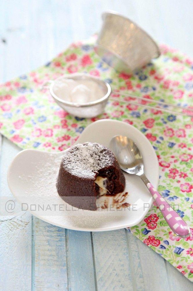 Tortino al cioccolato con cuore morbido al vapore