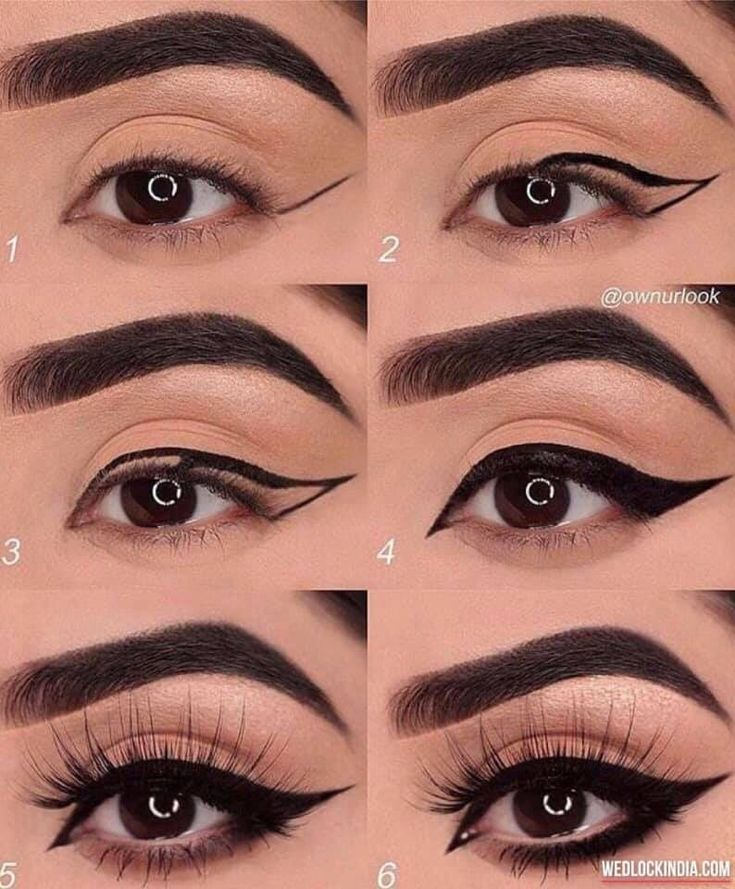 Photo of Simple Eye Makeup Tutorial Step By Step Instructions.  Health