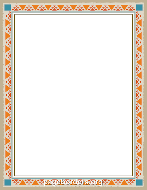 Printable native american border free gif jpg pdf and png printable native american border free gif jpg pdf and png downloads at httppagebordersdownloadnative american border forumfinder Images
