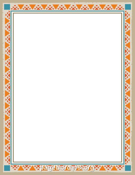 Native American Border Designs : native, american, border, designs, Native, American, Border:, Border,, Vector, Graphics, Borders, Paper,, Design,, Frames
