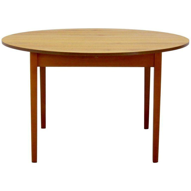 Vintage Danish Extendable Teak Dining Table 1960s Teak Dining