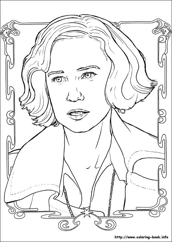 Fantastic Beasts And Where To Find Them Coloring Picture Harry Potter Coloring Pages Animal Coloring Books Harry Potter Silhouette