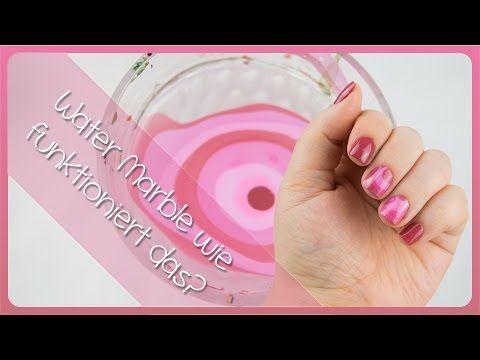 Water Marble Nail Art (Deutsche Version) YouTube Water