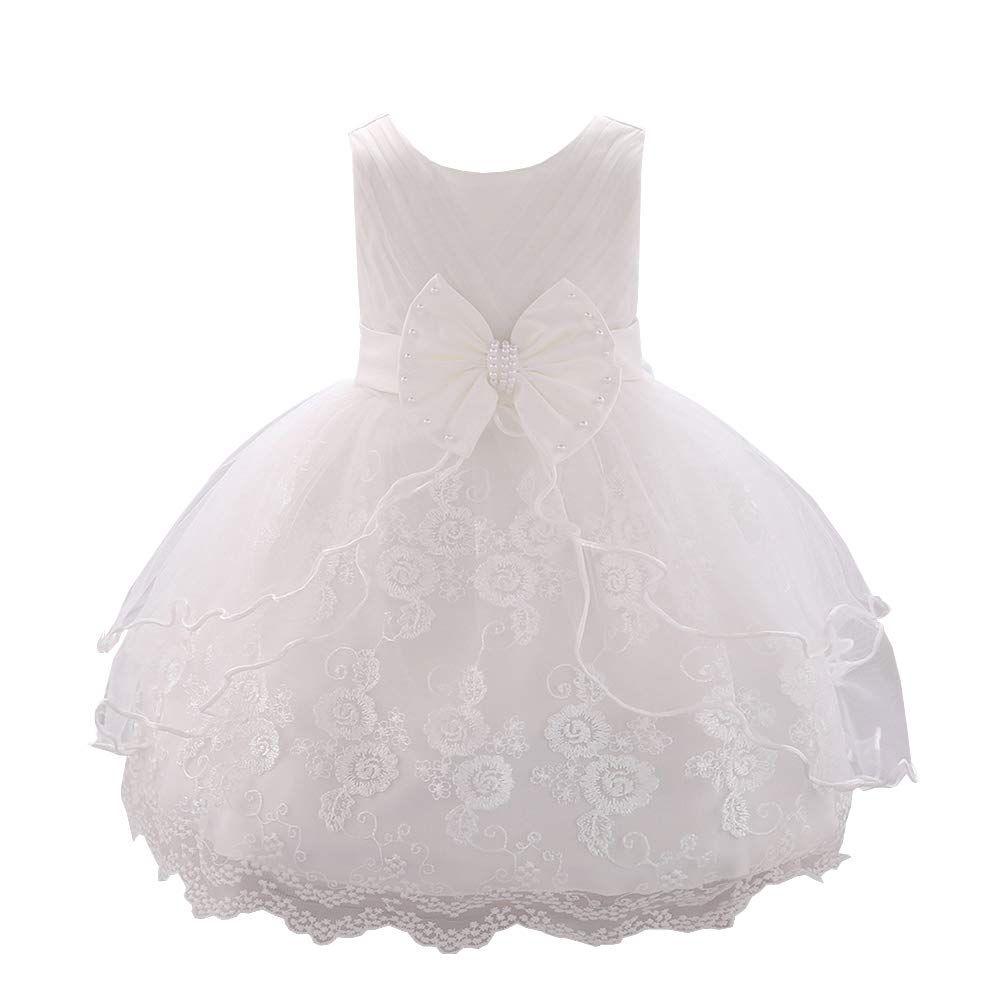 LPATTERN Baby Mädchen Festkleid- Prinzessin A-Linie ...