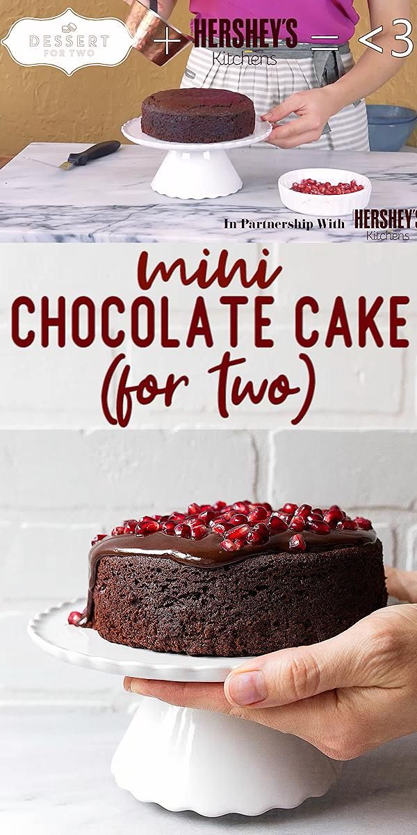 Photo of Mini Chocolate Cake for Two