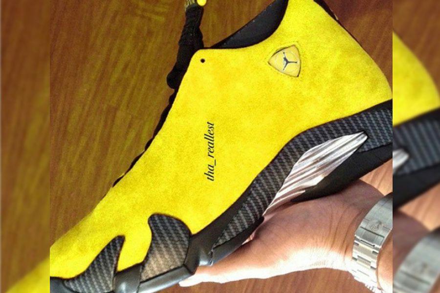 Air Jordan 14 Yellow Ferrari Bq3685 706 Release Date Sbd Air