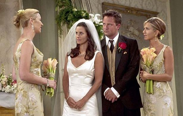 Casamentos Do Seriado Friends Madrinhas De Casamento Vestido